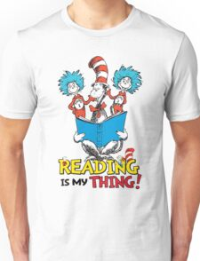 Read Across America - Reading is my Thing Unisex T-Shirt