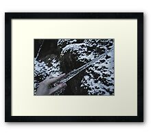 Wand Of The Ice Witch Framed Print