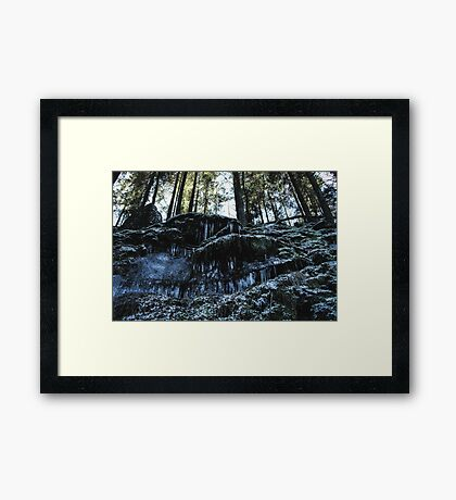 Ice Kingdom I Framed Print
