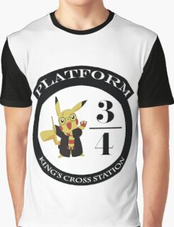 Pikachu potter Graphic T-Shirt