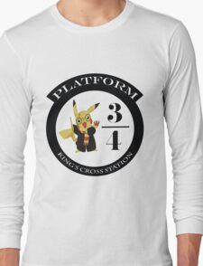 Pikachu potter Long Sleeve T-Shirt