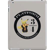 Pikachu potter iPad Case/Skin