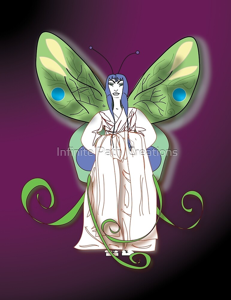 Madame Butterfly #4 (2007) by Infinite Path  Creations