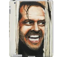 Here's Johnny! iPad Case/Skin