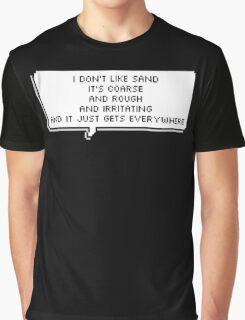 Anakin hates sand  Graphic T-Shirt
