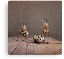 Simple Things - Easter Bunnies Canvas Print