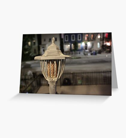 Candle Torch Greeting Card