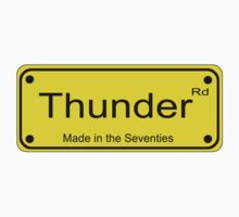 Springsteen Inspired - Thunder Road T-Shirt Bruce Sticker Baby Tee