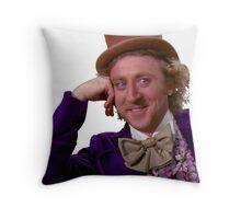 Condescending Wonka Throw Pillow