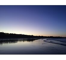 Sunset, Agnes Water Beach, Qld Photographic Print