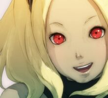 Gravity Rush - Kat Smile Portrait Sticker