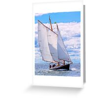 At Their Own Pace Greeting Card