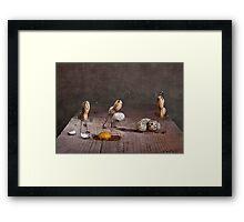 Simple Things - Easter Bunnies Framed Print