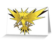 Pokemon Phoenix Greeting Card