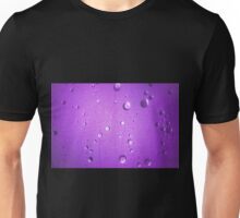Shower Door – Purple Unisex T-Shirt