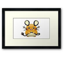 Pokemon Mice Framed Print