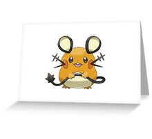Pokemon Mice Greeting Card