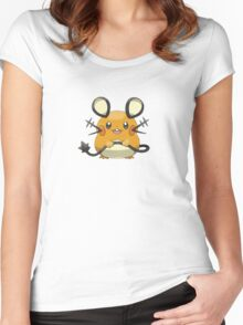 Pokemon Mice Women's Fitted Scoop T-Shirt