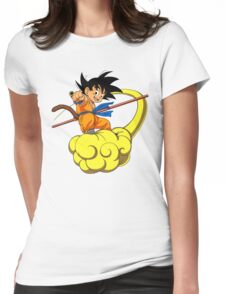 Son Goku Womens Fitted T-Shirt