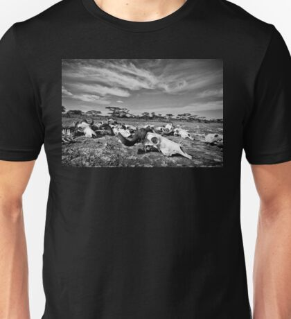 """Bone Yard"" (B&W) T-Shirt"