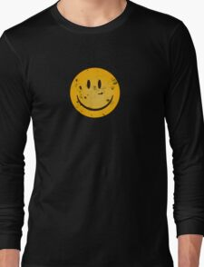 Acid Smiley Grunge Long Sleeve T-Shirt