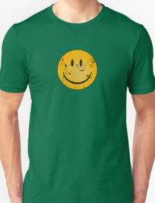 Acid Smiley Grunge Unisex T-Shirt