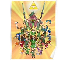 The Legend of Zelda 30th anniversary Poster
