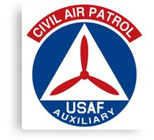 Civil Air Patrol Emblem Canvas Print