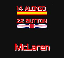 McLaren 2016 - Alonso, Button Unisex T-Shirt