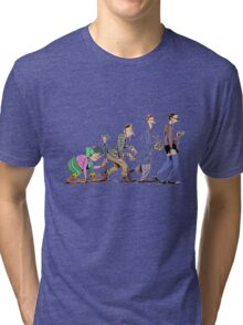 NERD EVOLUSION Tri-blend T-Shirt