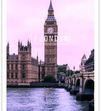 #LONDON Sticker