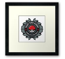 Pokemon Accademy Framed Print