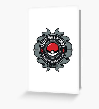 Pokemon Accademy Greeting Card