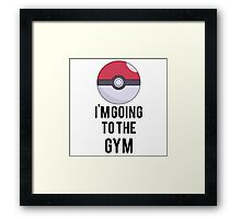 Pokemon Gym Framed Print