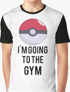 Pokemon Gym Graphic T-Shirt