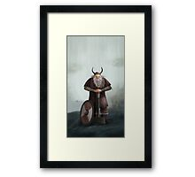Old Viking Framed Print