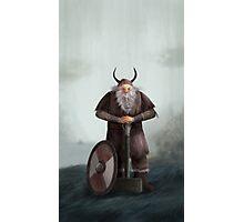 Old Viking Photographic Print