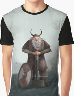 Old Viking Graphic T-Shirt