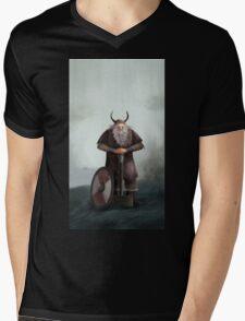 Old Viking Mens V-Neck T-Shirt