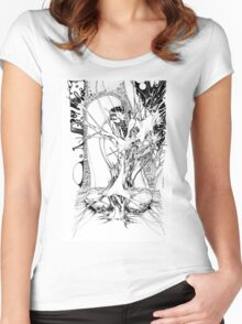 Graphics 011 Women's Fitted Scoop T-Shirt