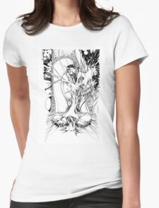 Graphics 011 Womens Fitted T-Shirt