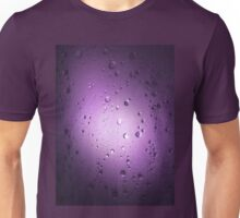 Light Through Shower Door – Purple Unisex T-Shirt