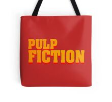 Pulp fiction title Tote Bag