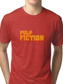 Pulp fiction title Tri-blend T-Shirt