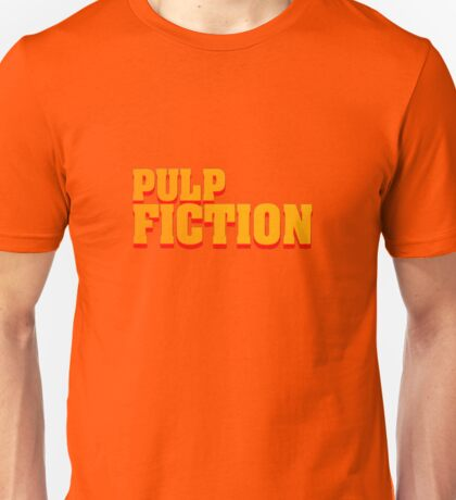 Pulp fiction title Unisex T-Shirt