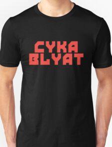 Cyka Blyat - Tee Print T-Shirt