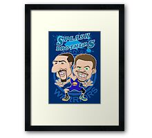 SPLASH BROTHERS Framed Print