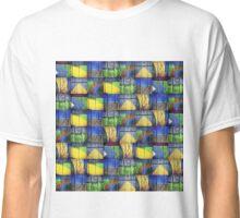 WORN PAINTED WOOD MOSIAC Classic T-Shirt