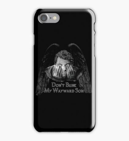 Don't Blink My Wayward Son iPhone Case/Skin
