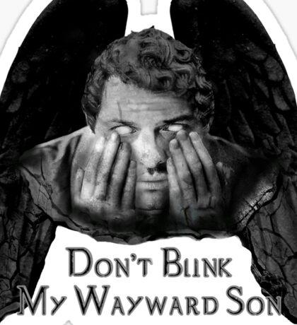 Don't Blink My Wayward Son Sticker